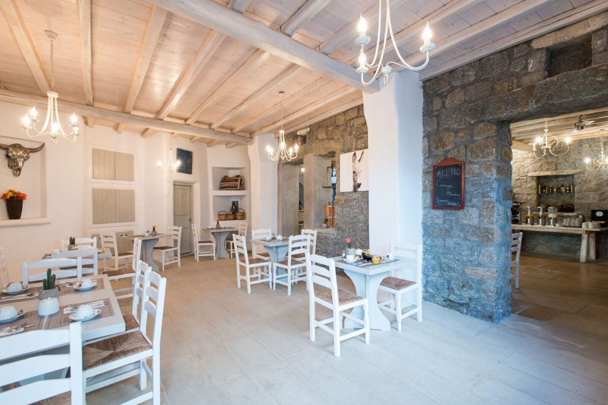 The Best Hotel Breakfasts in Mykonos - Aletro Cottage Houses